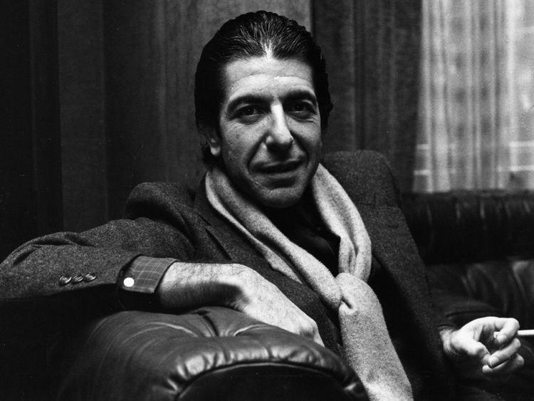 Leonard Cohen in 1980