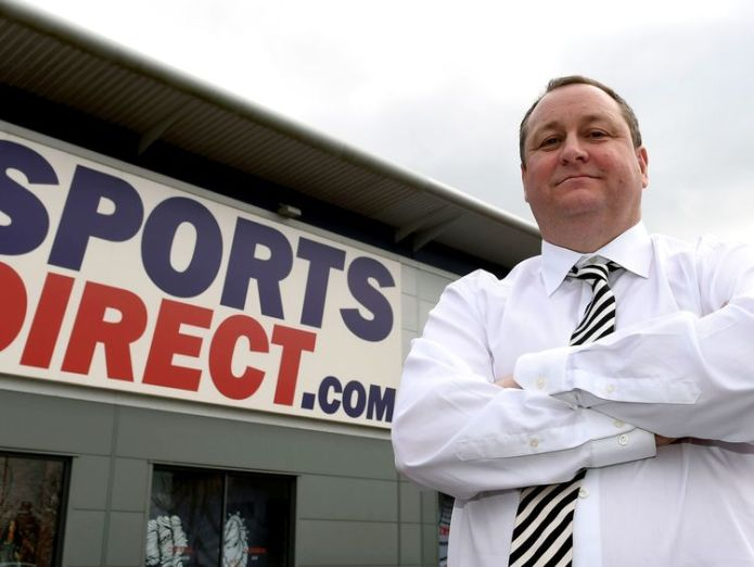 Sports Direct founder Mike Ashley