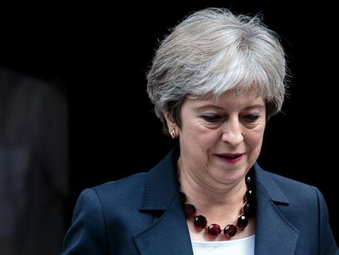 Theresa May könnte nach der Tory-Parteitagung ein Misstrauensvotum erhalten