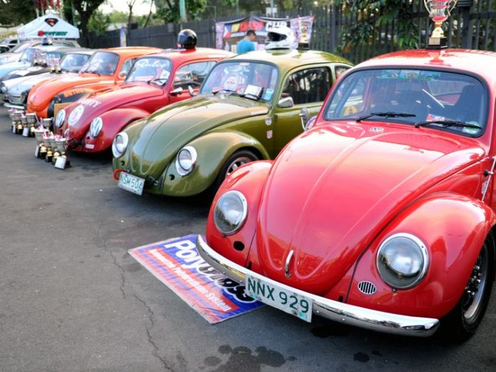 Classic Beetles have been used in racing competitions around the world  Volkswagen to stop making Beetles skynews volkswagen beetle 4420121