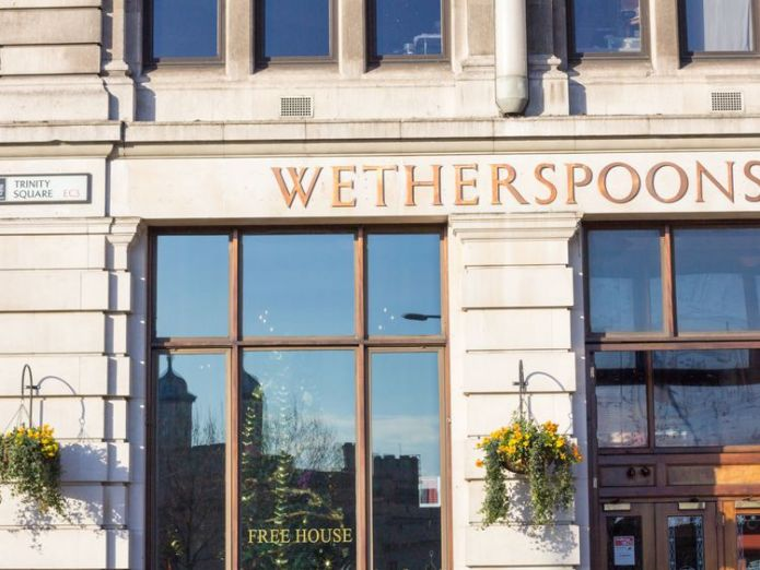 The includes all breeds of dogs  McDonald's, Wetherspoon and TGI Fridays workers plan strike skynews wetherspoons pubs dogs 4415780