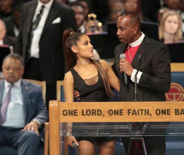 The Bishop Has Apologised For How He Touched Ariana Grande After Her Performance