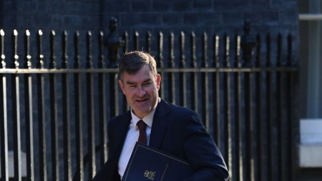 Justice Secretary David Gauke arrives in Downing Street