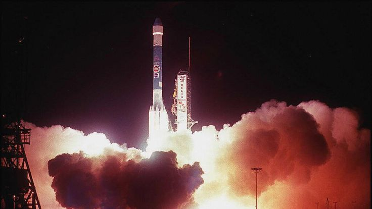 Delta II - seen here carrying the Mars Pathfinder space probe - is one of the most successful launch systems in history