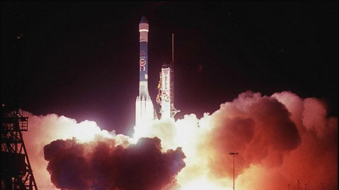 Delta II - seen here carrying the Mars Pathfinder space probe - is one of the most successful launch systems in history  Seven times when space rocket launches have failed skynews delta ii space 4449812