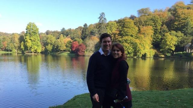 Eugenie and Jack will marry in Windsor Castle at 11am