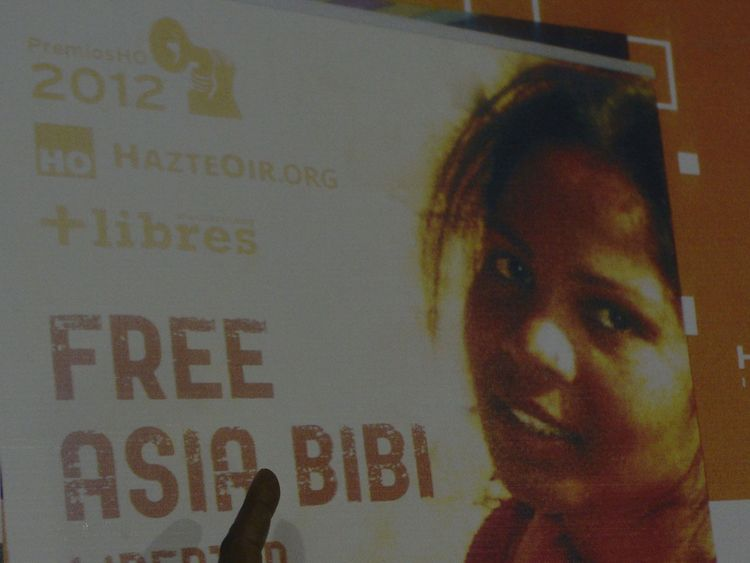 Asia Bibi has been on death row for eight years