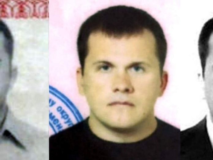 Bellingcat shared additional images of the doctor  Second Russian suspect in Skripal poisoning named as Dr Alexander Mishkin skynews bellingcat petrov mishkin 4447512