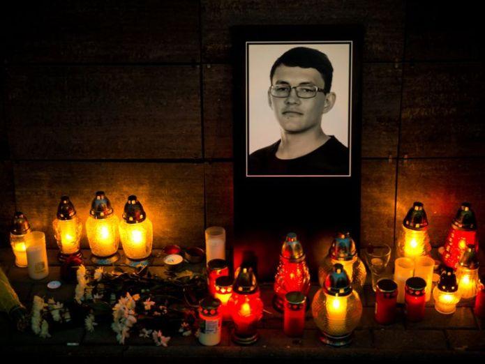 Jan Kuciak  Bulgarian police probing journalist Viktoria Marinova's murder detain Romanian skynews jan kuciak slovakia 4447026