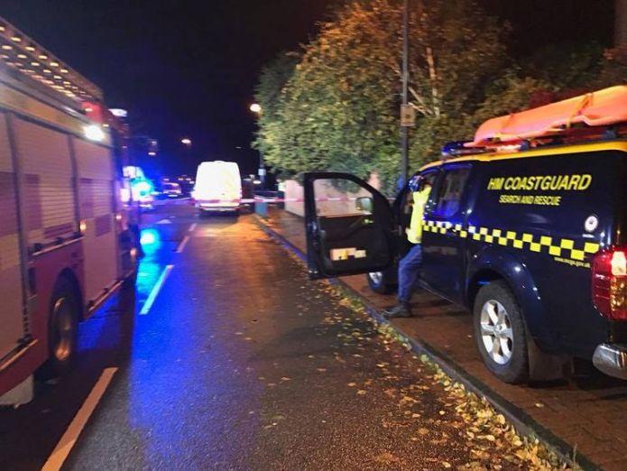 A man died after falling in Penarth Marina, South Wales. Photo: Penarth Coast Guard