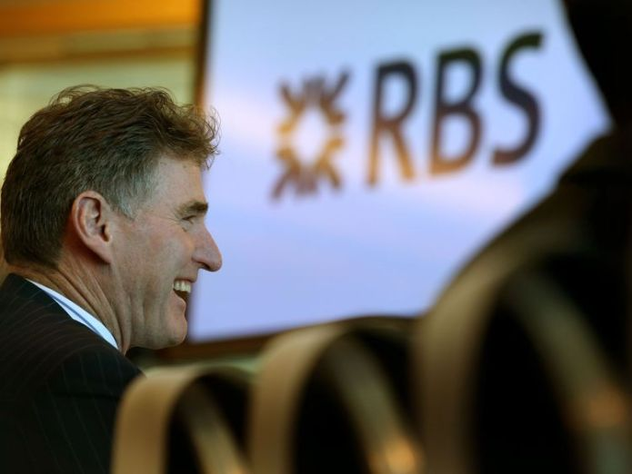 Ross McEwan, Chief Executive of RBS, after giving a speech to announce RBS is opening up its global headquarters in Edinburgh to key Scottish business organisations and entrepreneurs to encourage entrepreneurialism and promote economic growth  RBS boss Ross McEwan warns of 'another decade of mistrust' skynews ross mcewan rbs 4446823
