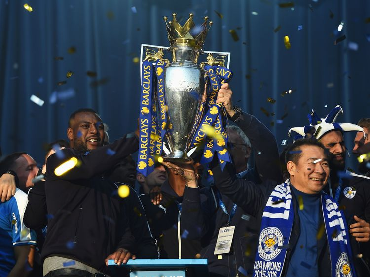 The Thai businessman helped Leicester take the Premier League home