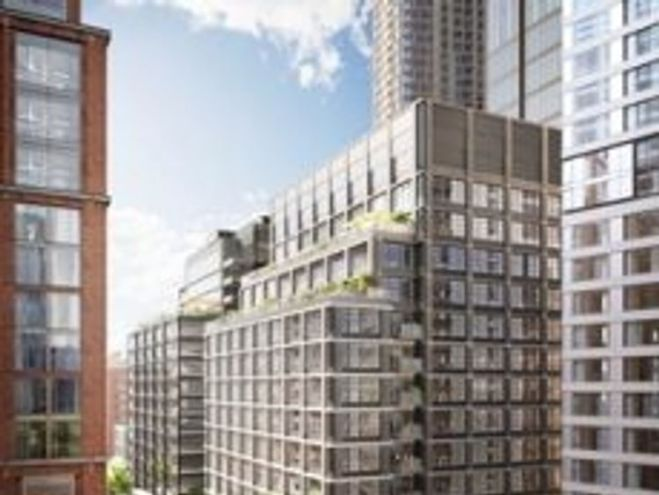 The Wood Wharf development will offer school and leisure facilities. Pic: CWG