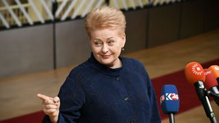 Lithuanian president Dalia Grybauskaite says there could be another general election, another referendum or a re-negotiation with the EU