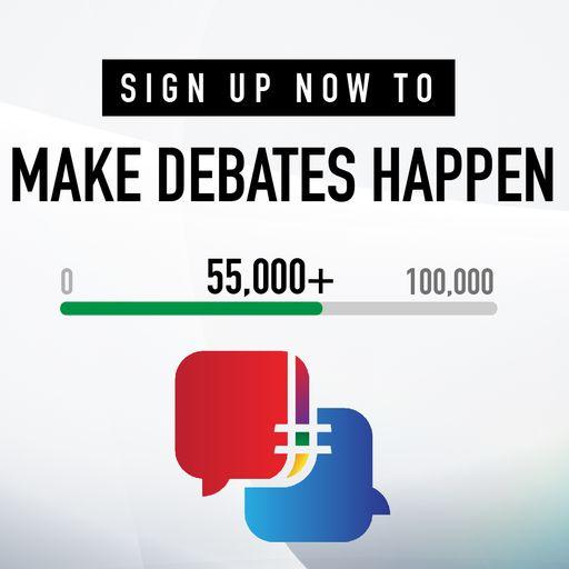 #MakeDebatesHappen