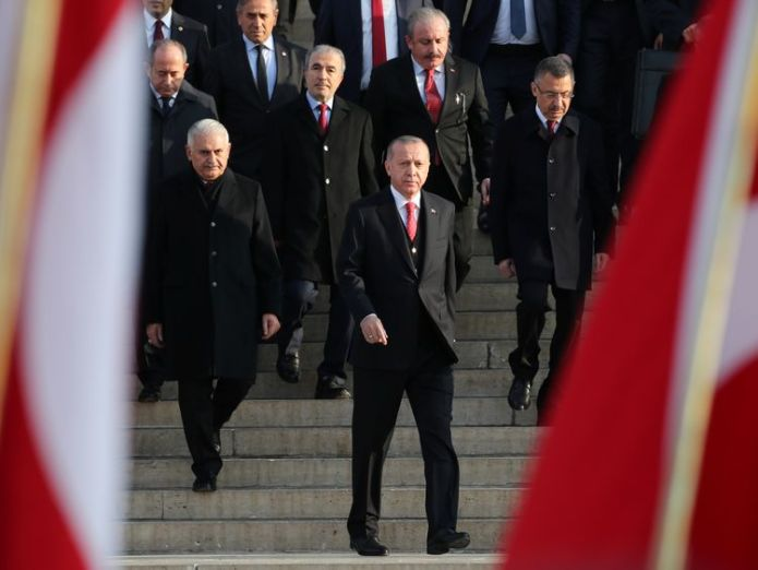 Turkish President Tayyip Erdogan  Jamal Khashoggi murder tapes shared with UK, says Erdogan skynews erdogan turkey 4482650