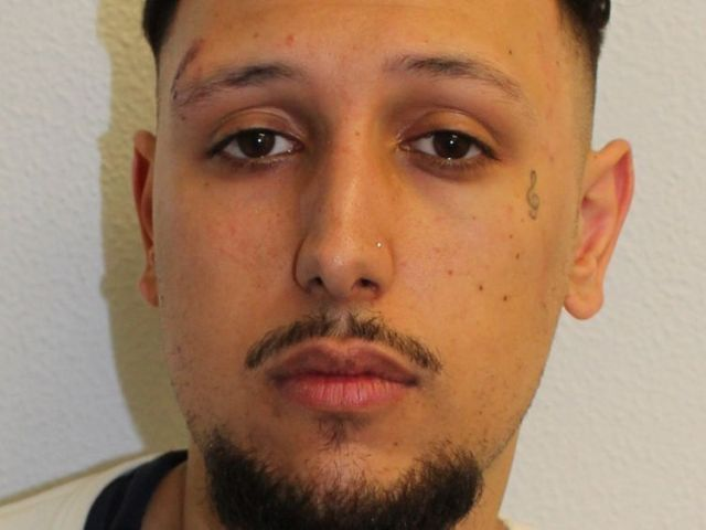 Jordan Gharib was jailed for his part in an unlicensed music event in east London which left several police officers injured