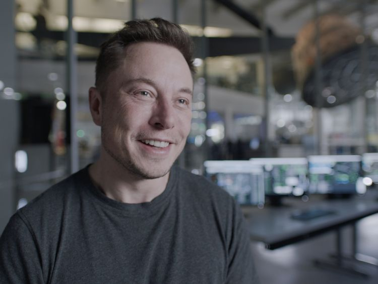 Elon Musk, chief executive SpaceX, on Mars. Pic: National Geographic