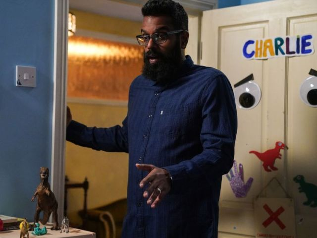 Romesh Ranganathan stars in The Reluctant Landlord on Sky One