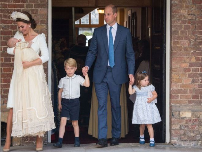 Prince William says he wants his father to spend more time with his grandchildren