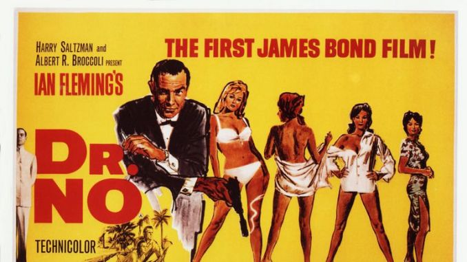 Dr No turned Sean Connery into an international superstar