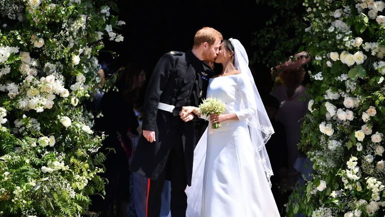 Harry and Meghan's new home is where they held their wedding reception