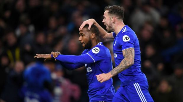 Highlights from Cardiff's 2-1 win over Wolves in the Premier League