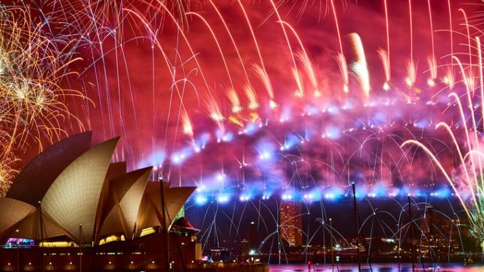 More than a million are estimated to have turned out for the Sydney display
