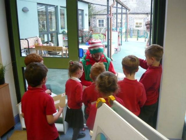 """Head teacher Mrs Emma Harding said the children were """"in awe"""" of their most recent visitor"""