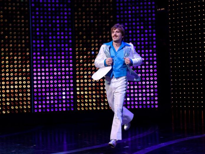 Jarrod Spector, who plays Sonny Bono, in The Cher Show