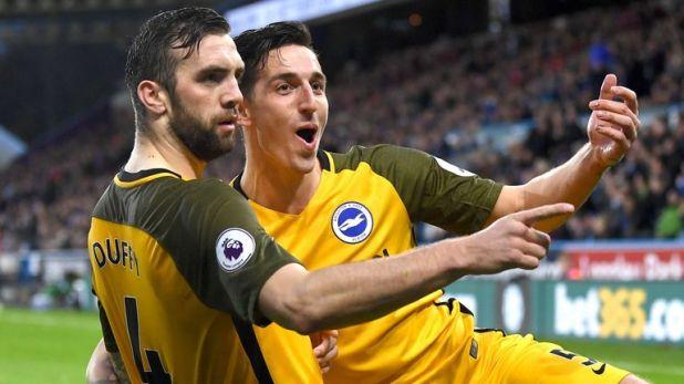Huddersfield 1-2 Brighton
