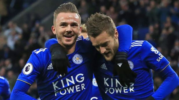 Highlights from Leicester's 2-0 win over Watford in the Premier League