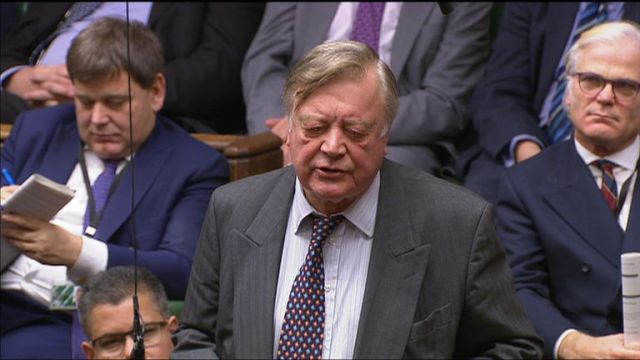 "Tory MP Ken Clarke says it would be ""unhelpful, irrelevant and irresponsible"" for the Conservative party to embark on weeks of a leadership contest."