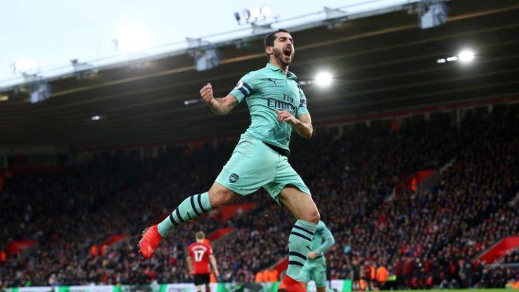 Arsenal boss Unai Emery reveales his plans for clash against Huddersfield skysports henrikh mkhitaryan 4520844
