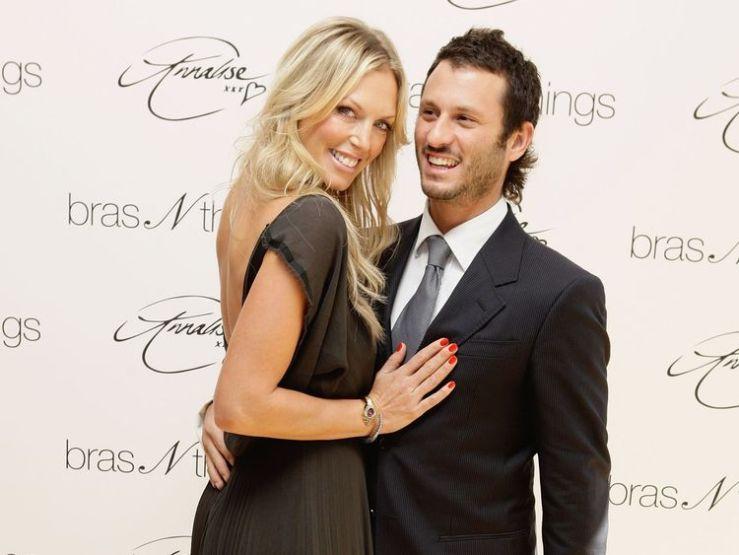 Annalise Braakensiek and husband Danny Goldberg seen in 2009