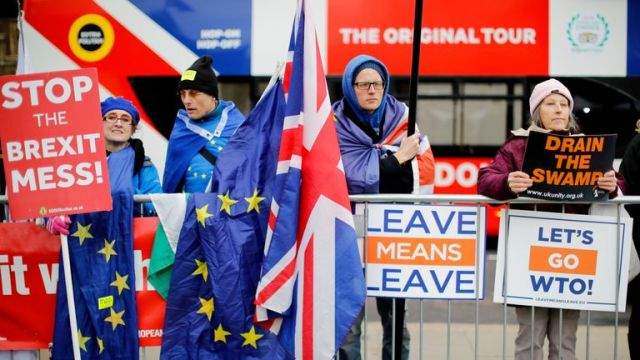 Only one in 16 respondents to a survey said they did not have a Brexit identity