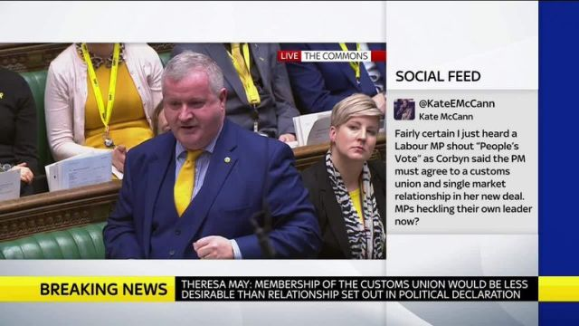Ian Blackford challenges PM in the Commons