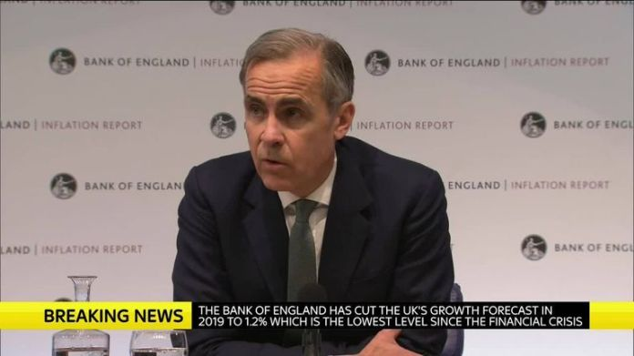 Mark Carney is governor of the Bank of England
