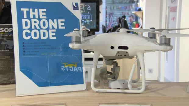 People who purchases drones are informed of the relevant code