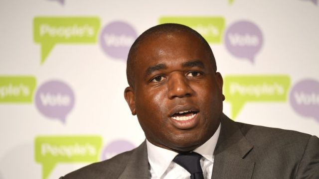 David Lammy tabled an urgent question regarding the flight