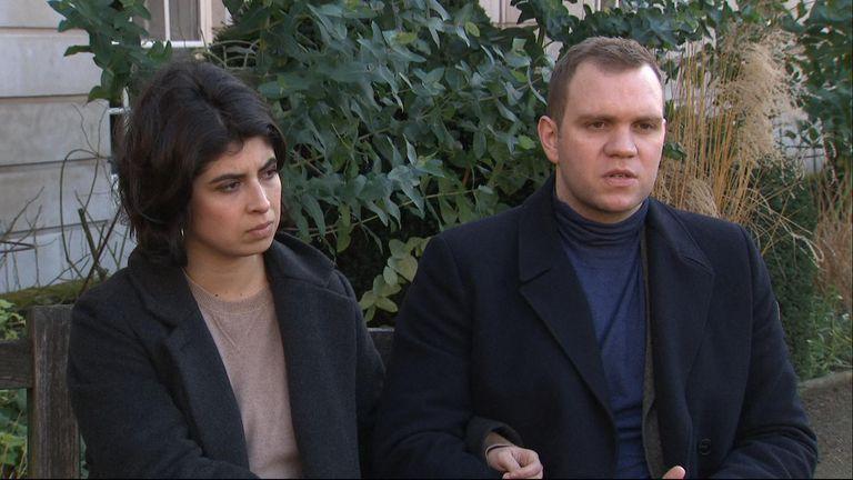 Die Ehefrau von Herrn Hedge, Daniela Tejeda, kämpfte um die Freilassung ihres Mannes