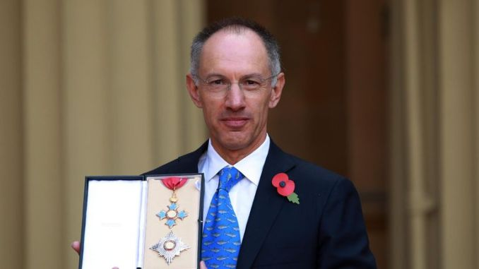 Sir Michael Moritz is said to be worth more than $3bn