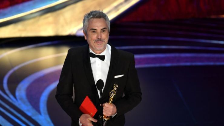 Alfonso Cuaron scooped several awards for Roma