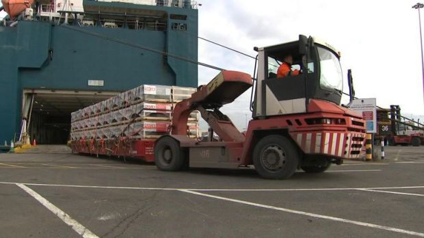 Most of the imports into Bristol port come from outside the EU