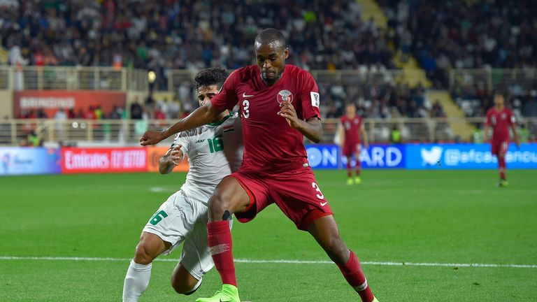 Herr Ahmad hatte das Viertelfinale des asiatischen Pokals zwischen Katar und dem Irak gesehen