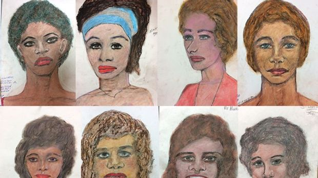 Some of the victims. Pic: FBI