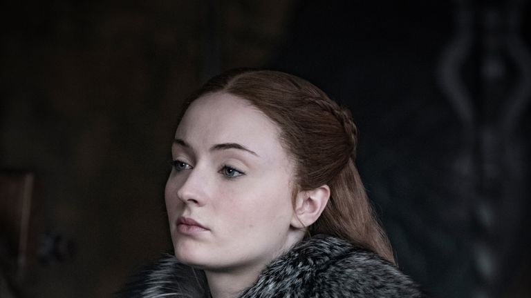 Sansa Stark was joined by her sister Arya in Winterfell in season eight