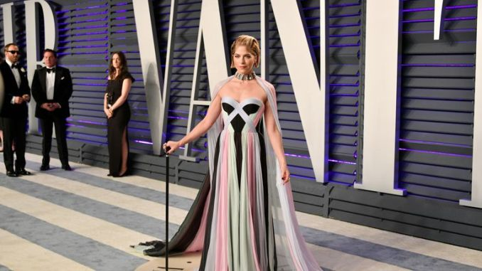 Selma Blair attends the 2019 Vanity Fair Oscar Party hosted by Radhika Jones at Wallis Annenberg Center for the Performing Arts on February 24, 2019 in Beverly Hills, California.