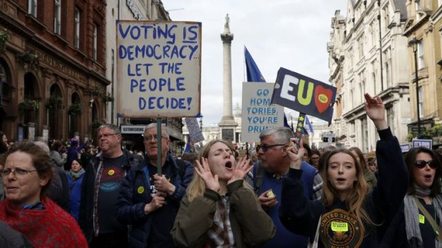 Brexit march 23/03