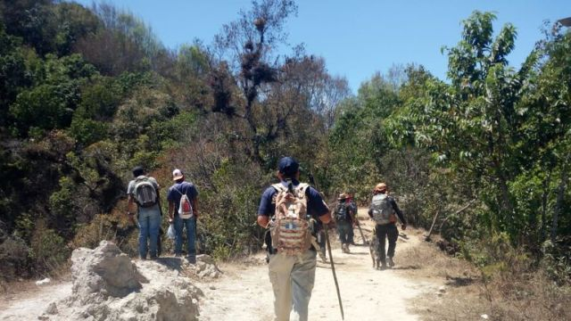 Authorities found the body on Monday. Pic: PNC Guatemala